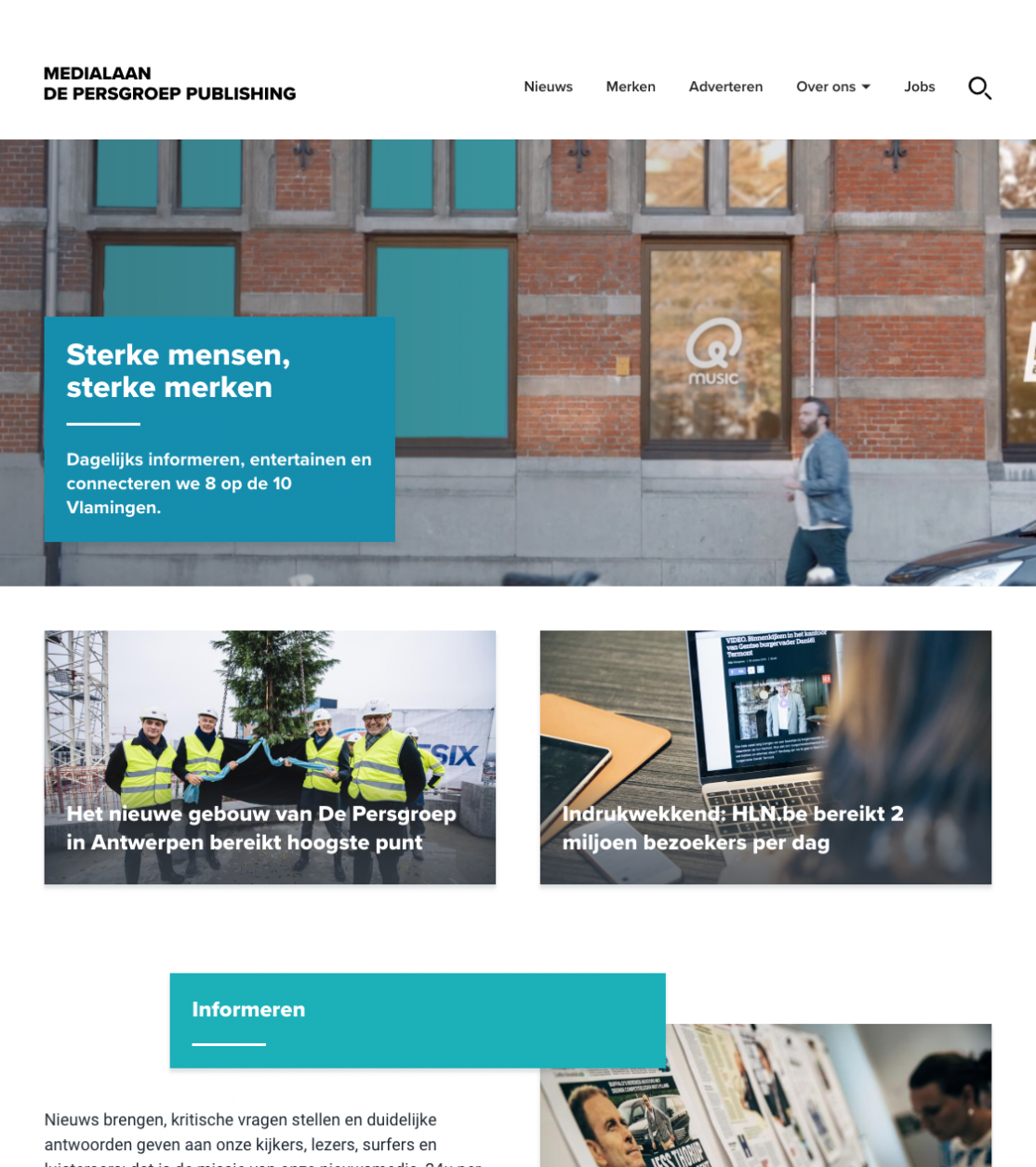 De Persgroep - Medialaan Website